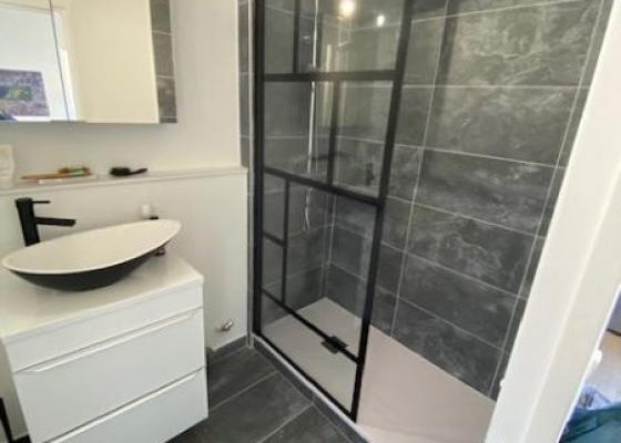 Réalisation de salle de bain à Lyon